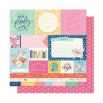 American Crafts - She's Magic -  You Totally Can 12 x 12 Paper